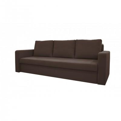 Καναπές κρεβάτι με αποθηκευτικό χώρο 227X88εκ. VENUS Καφεγκρί