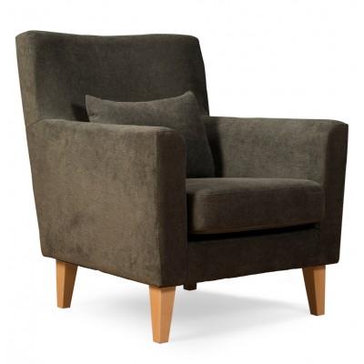 Πολυθρόνα καθιστικού 65x75εκ. LOBBY γκρι