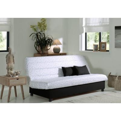 Καναπές κρεβάτι 185x88/120εκ. με αποθηκευτικό χώρο WHITE ARROWS ECO