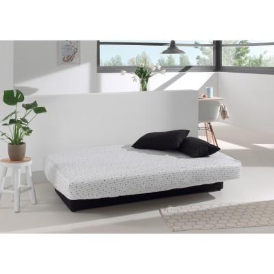 Καναπές κρεβάτι 190x90/135εκ. με αποθηκευτικό χώρο WHITE ARROWS LUX