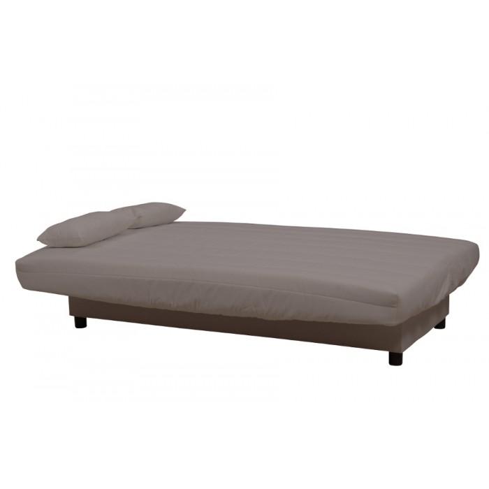 TAUPE ECO Καναπές κρεβάτι 180x88/120εκ. με αποθηκευτικό χώρο