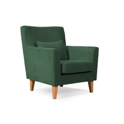Πολυθρόνα καθιστικού 65x75εκ. LOBBY πράσινο
