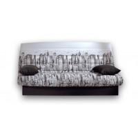Καναπές κρεβάτι 190x90/135εκ. με αποθηκευτικό χώρο  MANHATTAN LUX