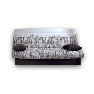 Καναπές κρεβάτι 180x88/120εκ. με αποθηκευτικό χώρο  MANHATTAN ECO