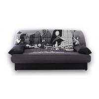 Καναπές κρεβάτι 190x90/135εκ. με αποθηκευτικό χώρο NEW YORK  LUX