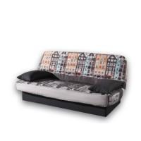 Καναπές κρεβάτι 190x90/135εκ. με αποθηκευτικό χώρο AMSTERDAM LUX