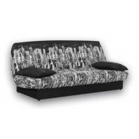 Καναπές κρεβάτι 180x88/120εκ. με αποθηκευτικό χώρο MANHATTAN NIGHT ECO