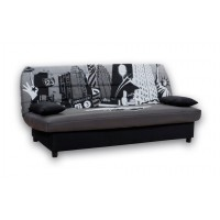 Καναπές κρεβάτι 180x88/120εκ. με αποθηκευτικό χώρο NEW YORK ECO