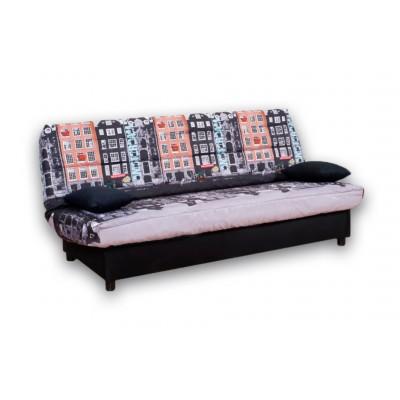 Καναπές κρεβάτι 180x88/120εκ. με αποθηκευτικο χώρο AMSTERDAM ECO