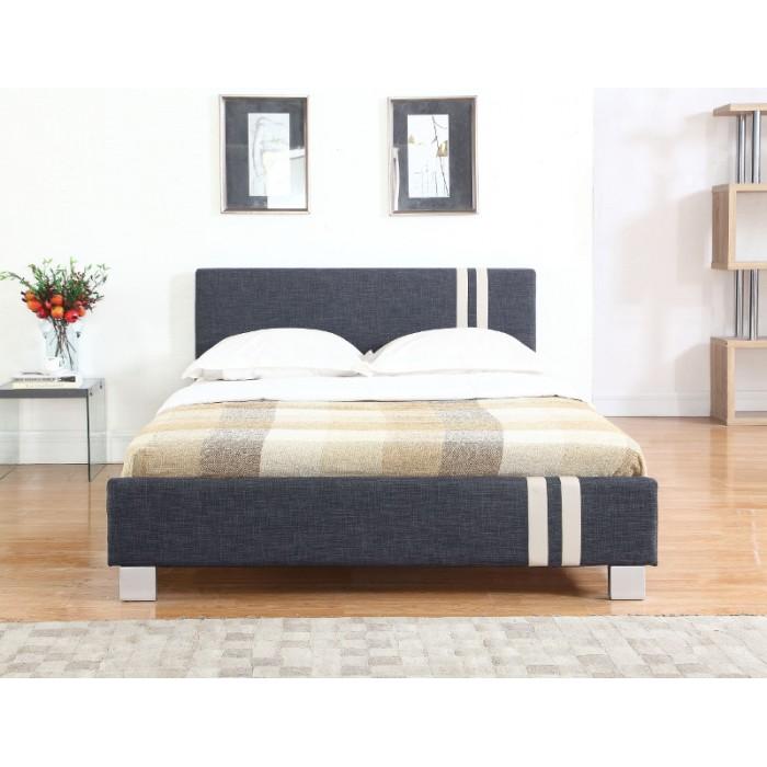 Κρεβατι με στρωμα - Ντυμένο διπλό κρεβάτι με στρώμα 150x200εκ. της Candia  ΚΡΕΒΑΤΙΑ ΜΕ ΣΤΡΩΜΑ, επιπλα - insidehome.gr