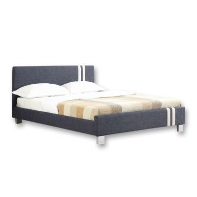 Ντυμένο διπλό κρεβάτι 150x200εκ. JN 177 Γκρί