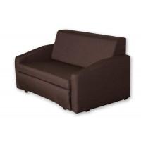 Διθέσιος καναπές κρεβάτι 143x95εκ. ELLY  Καφέ