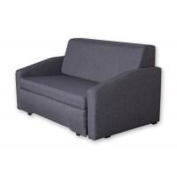 Διθέσιος καναπές κρεβάτι 143x95εκ. ELLY Γκρι Σκούρο