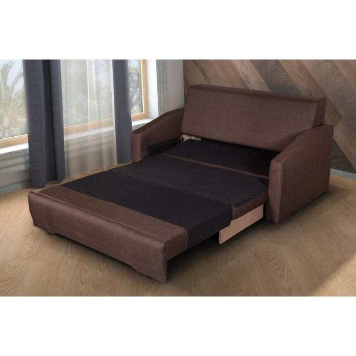 Διθέσιος καναπές κρεβάτι 143x95εκ. ELLY  Καφέ ΚΑΝΑΠΕΔΕΣ ΚΡΕΒΑΤΙ, επιπλα - insidehome.gr