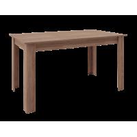 Τραπέζι ξύλινο 140x80εκ. BELLO POL21 Μόκα