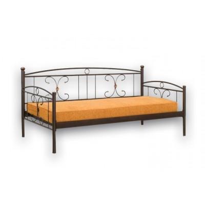 Καναπές μεταλλικός τριθέσιος κρεβάτι Ν43