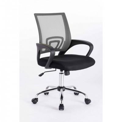 Καρέκλα γραφείου SP80 Μαύρο/Γκρι Mesh