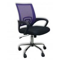 Καρέκλα γραφείου SP80 Μαύρο/Μωβ Mesh