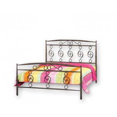 Κρεβάτι μεταλλικό διπλό N71