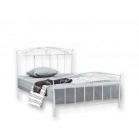 Κρεβάτι μεταλλικό διπλό Ν61