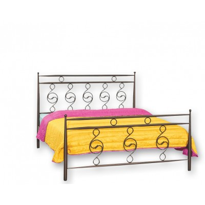 Μεταλλικό κρεβάτι διπλό N66