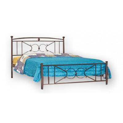 Κρεβάτι μεταλλικό διπλό N18 150χ200εκ.