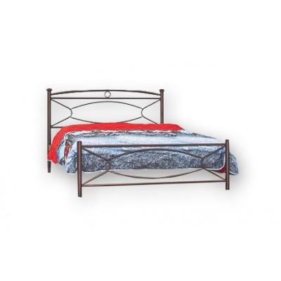 Κρεβάτι μεταλλικό N19 150χ200εκ.