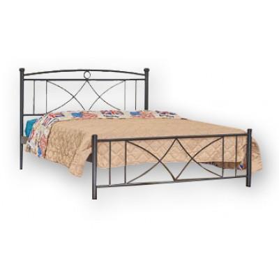 Μεταλλικό διπλό κρεβάτι N16 150X200εκ.