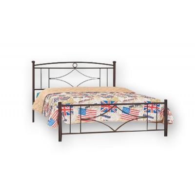 Κρεβάτι μεταλλικό διπλό N17 150χ200εκ.