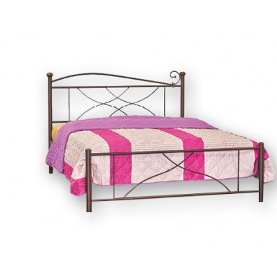 Κρεβάτι μεταλλικό  N21 150χ200εκ.