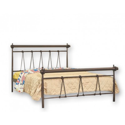 Κρεβάτι μεταλλικό διπλό Ν34 150x200εκ.
