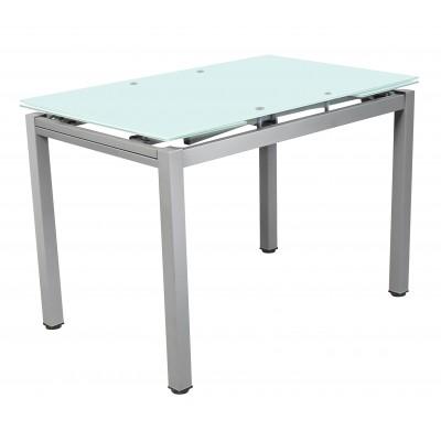 Roy Τραπέζι μεταλλικό 110(170)χ70εκ. επεκτεινόμενο ανοιγόμενο Αμμοβολή XS25