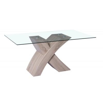 Emilia Τραπέζι 170x90εκ. HL37 Sonoma