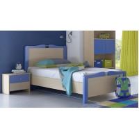 Κρεβάτι παιδικό για στρώμα 90χ190εκ. POL03