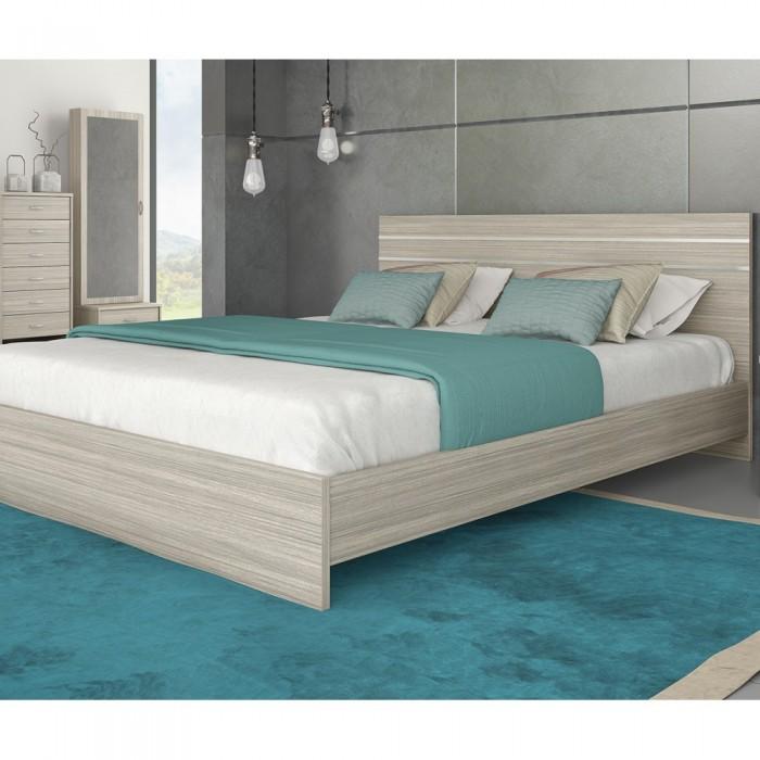Κρεβάτι διπλό ξύλινο POL 01 ΞΥΛΙΝΑ ΚΡΕΒΑΤΙΑ, επιπλα - insidehome.gr