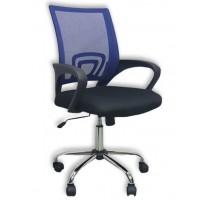 Καρέκλα γραφείου SP80 Μαύρο/Μπλε Mesh